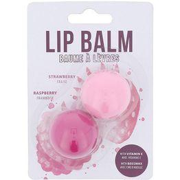 2K Duo Lip Balm 2,8gr Strawberry & 2,8gr Raspberry