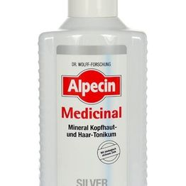 Alpecin Medicinal Silver Mineral Scalp & Hair Tonic Hair Oils And Serum 200ml (Grey Hair)