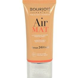 Bourjois Paris Air Mat Spf10 Makeup 30ml 07 Hale Fonce