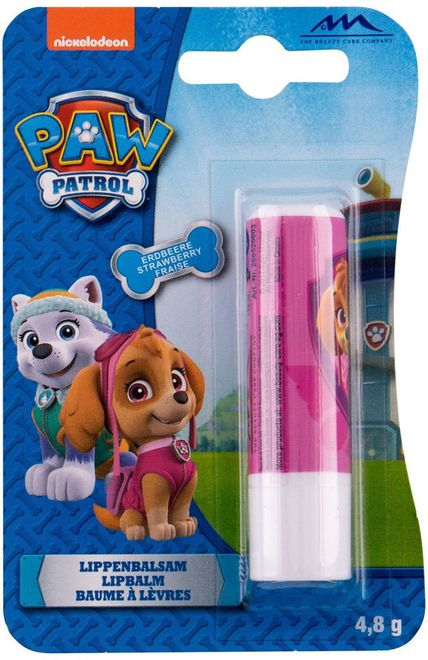 Nickelodeon Paw Patrol Lip Balm Strawberry 4,8gr (For All Ages)