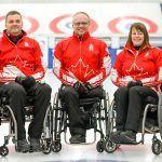 2021 Wheelchair curling lineup!
