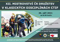 Letošní poslední mistrovství bude patřit klasickým disciplínám CTIF
