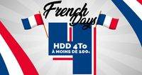 French Days Stockage : 4 Disques NAS 4To à moins de 100€