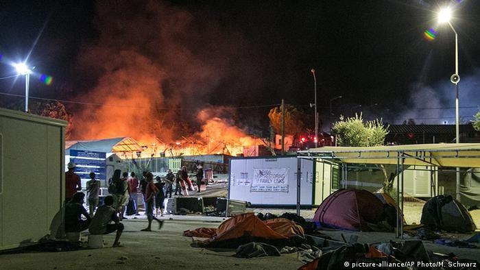 Пожежа у Морії, 2016 рік