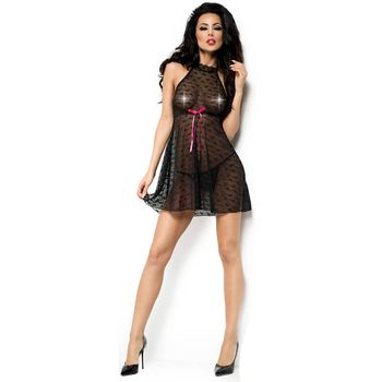 Γυναικείο Babydoll – Chilirose Black Babydoll and String CR-4003