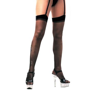 Κάλτσες – Garter Top Thigh High Stockings SFT0005