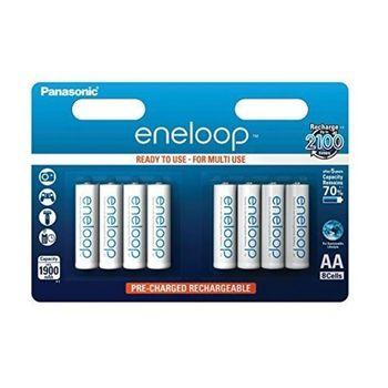 Μπαταρίες Επαναφορτιζόμενες Panasonic Eneloop AA 1900mAh 8pcs Bl