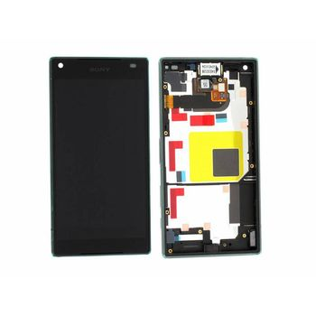 LCD Display Touch + Front Cover Sony E5823 Xperia Z5 Compact Black (Service Pack)