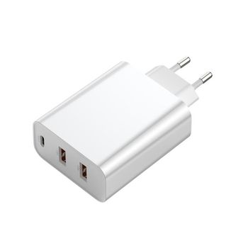 Φορτιστής Baseus Quick Charge 60W 2xUSB + USB-C PD+QC3.0/4+ CCFS-G02 PPS White
