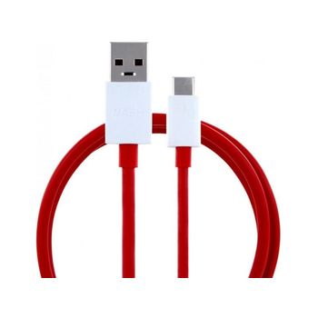 Data Cable OnePlus D301 USB-C 1.0m Red Bulk