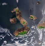 Earth from Space: Galápagos Islands