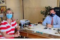 Συνάντηση Ζ. Μακρή- Α. Γεωργιάδη για την αναβάθμιση του δημόσιου σχολείου