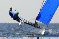Gigi Ugolini e Alice Cialfi vice campioni europei Nacra 17