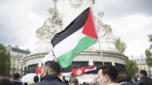 """On veut se faire entendre"" : à Paris, malgré l'interdiction, des soutiens du peuple palestinien veulent manifester"