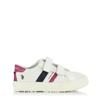 US POLO – Sneakers MATRY155 GLITTER ΠΑΙΔΙΚΟ ΥΠΟΔΗΜΑ