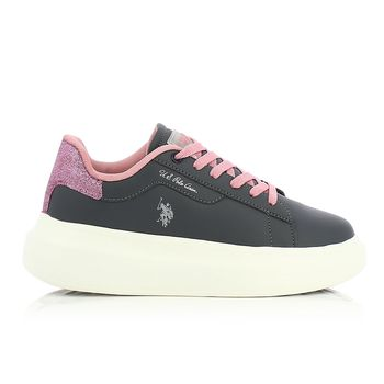 US POLO – Sneakers HELIS002 MET ΠΑΙΔΙΚΟ ΥΠΟΔΗΜΑ Νο35-39