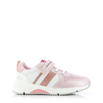 TOMMY HILFIGER – Sneakers LOW CUT LACE-UP VELCRO SNEAKER ΠΑΙΔΙΚΟ ΥΠΟΔΗΜΑ 28-34