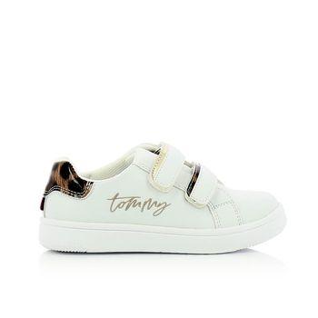 TOMMY HILFIGER – Sneakers LOW CUT VELCRO SNEAKER ΠΑΙΔΙΚΟ ΥΠΟΔΗΜΑ Νο28-29