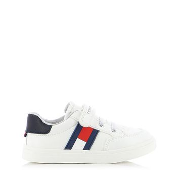 TOMMY HILFIGER – Sneakers LOW CUT LACE-UP VELCRO SNEAKER ΠΑΙΔΙΚΟ ΥΠΟΔΗΜΑ 24-29