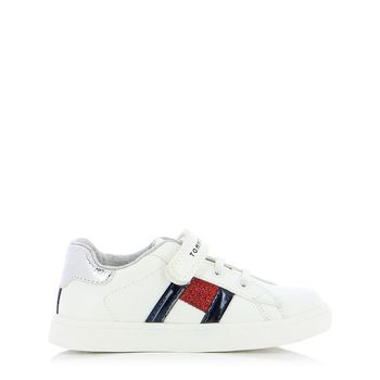 TOMMY HILFIGER – Sneakers LOW CUT LACE-UP/VELCRO SNEAKER