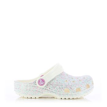 Crocs – Πέδιλα E47078 Classic Glitter Clog K ΠΑΙΔΙΚΟ ΥΠΟΔΗΜΑ