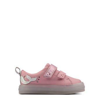 Clarks – Sneakers FlareShellLo T Pink ΠΑΙΔΙΚΟ ΥΠΟΔΗΜΑ