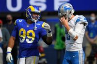 Detroit Lions' Jared Goff throws 2 INTs in loss to Rams, but 'was good enough to win'