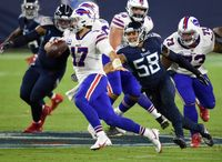 9 Tennessee Titans-Buffalo Bills predictions: With Josh Allen coming to town, do Titans have a shot?