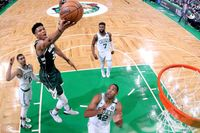 Who are the Milwaukee Bucks likely to draw in the first round of the NBA playoffs?