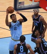 Memphis Grizzlies vs. Sacramento Kings game photos