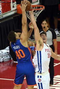 Pistons give big man Luka Garza new two-year deal