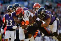 Fourth-quarter touchdown runs for Mixon, Perine seal Bengals' win vs. Ravens in Baltimore