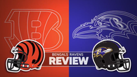 VIDEO: Bengals top AFC North with rout of Ravens in Baltimore