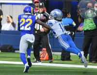 Lions notes: Wide receiver Kalif Raymond becoming Jared Goff's top target