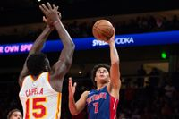 Pistons' Killian Hayes finds scoring touch, but work remains on defense