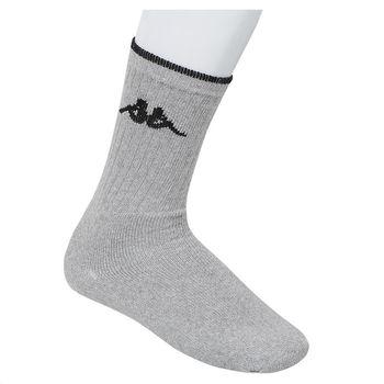 Κάλτσα ανδρική αθλητική kappa ΓΚΡΙ