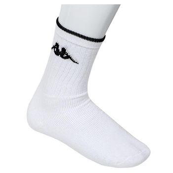 Κάλτσα ανδρική αθλητική kappa ΛΕΥΚΟ