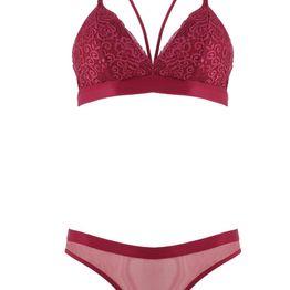 Set bralette bikini brazil.Sensual style. ΜΠΟΡΝΤΩ