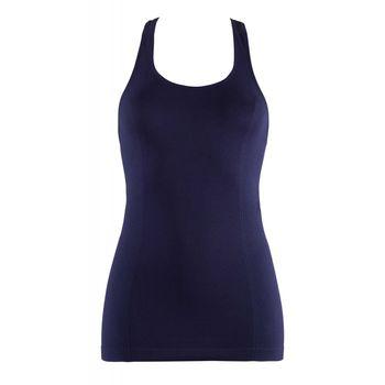 Γυναικείο φανελάκι αθλητική πλάτη. Basic Collection ΜΠΛΕ