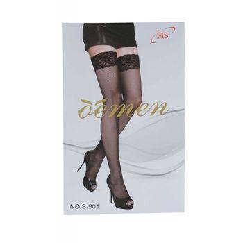 Κάλτσα γυναικεία δίχτυ ΜΑΥΡΟ