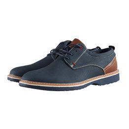 Ανδρικό παπούτσι loafers δερματίνη αντιολισθητική σόλα.Timeless style. ΜΠΛΕ
