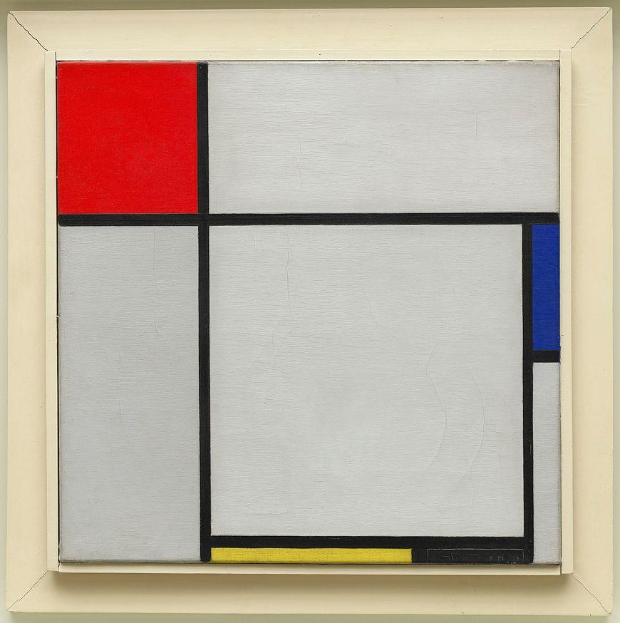 ピエト・モンドリアン、作曲、1929年。アーティストのフレームのキャンバスに油彩、17 3/4 x 17 7/8インチ(45.1 x 45.3 cm)
