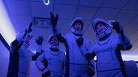 Inspiration4: Erstmals vier Laien alleine ins Weltall gestartet