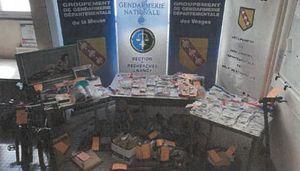 Grand Nancy : démantèlement d'un réseau de trafic de stupéfiants organisé par des ressortissants albanais