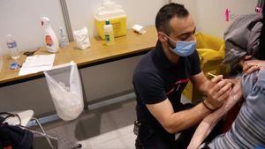 Vidéo. Vaccinodrome de Nancy : les sapeurs-pompiers du SDIS 54 en renfort