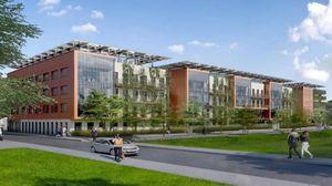 Nancy : la première pierre du bâtiment Orange posée au cœur du quartier Rives de Meurthe