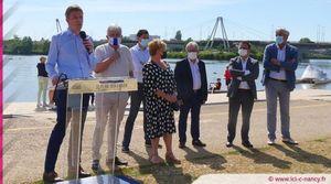 Vidéo. Grand Nancy : la plage des Deux Rives inaugurée sous le soleil