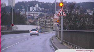 Nancy : déviations suite à des travaux sur le viaduc Louis Marin (VEBE)