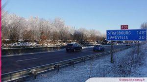 Obligation d'équipement en pneus neige : aucune commune concernée en Meurthe-et-Moselle