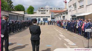 En Images. À Nancy, l'hommage aux policiers morts pour la France